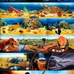 青少年科学館ソラール 壁画(アクリル)